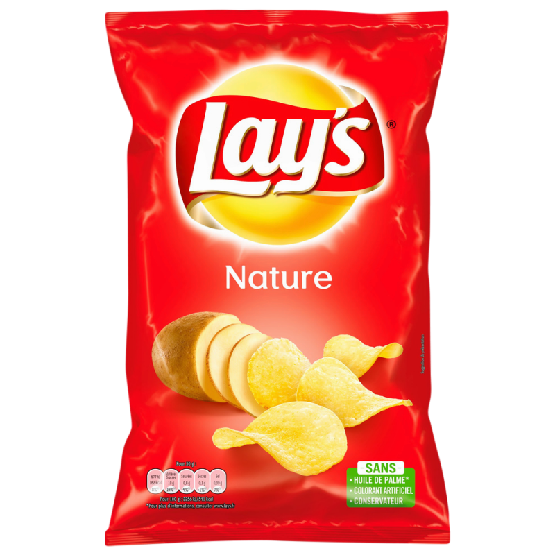 CHIPS LAY'S 100G