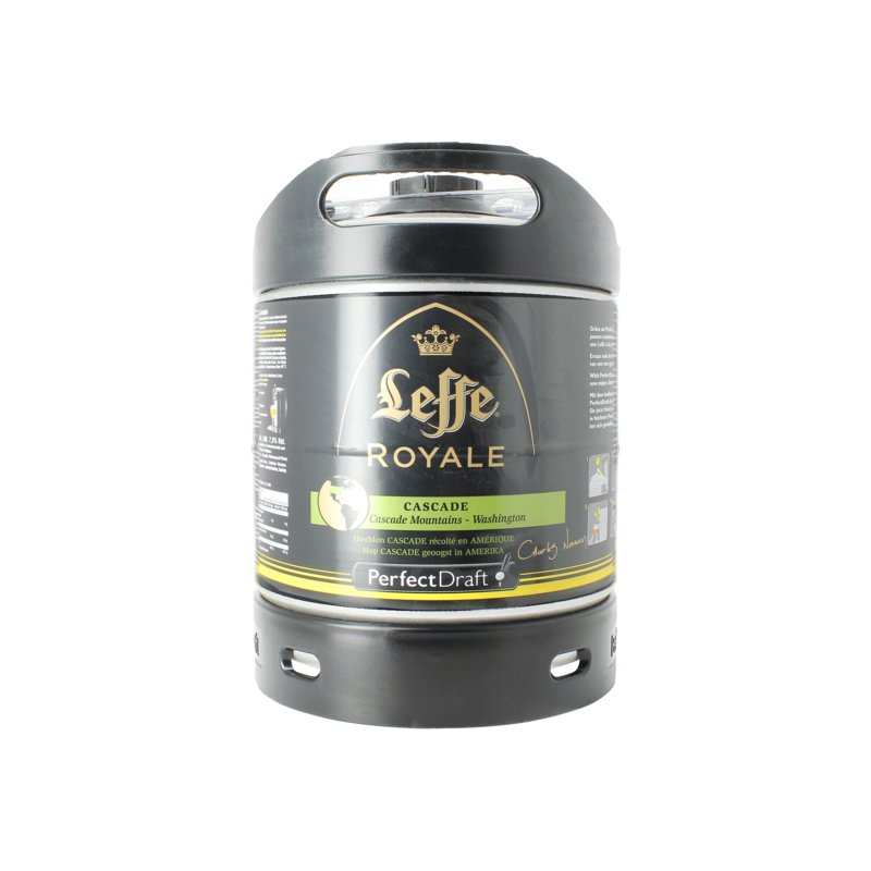 LEFFE ROYALE CASCADE FUT 6L 7.5%