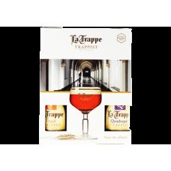 COFFRET LA TRAPPE TRAPPISTE 4X33CL + 1 VERRE