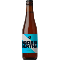 GROSSE BERTHA BRUSSELS BEER PROJECT 33CL