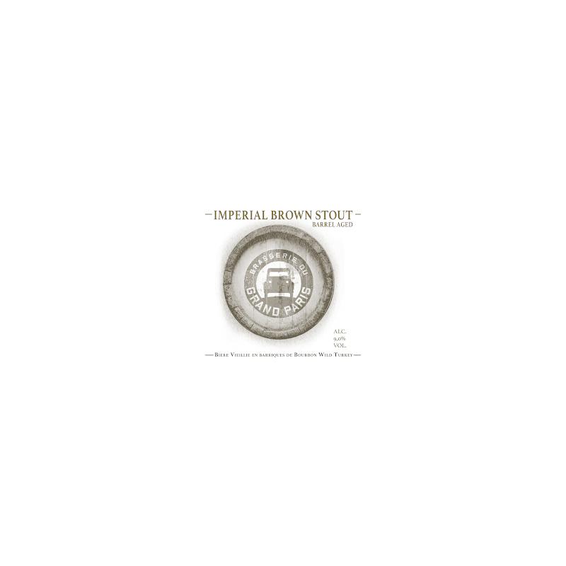 GRAND PARIS IMPERIAL BROWN STOUT 33CL