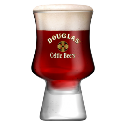 VERRE DOUGLAS CELTIC BEER 25CL