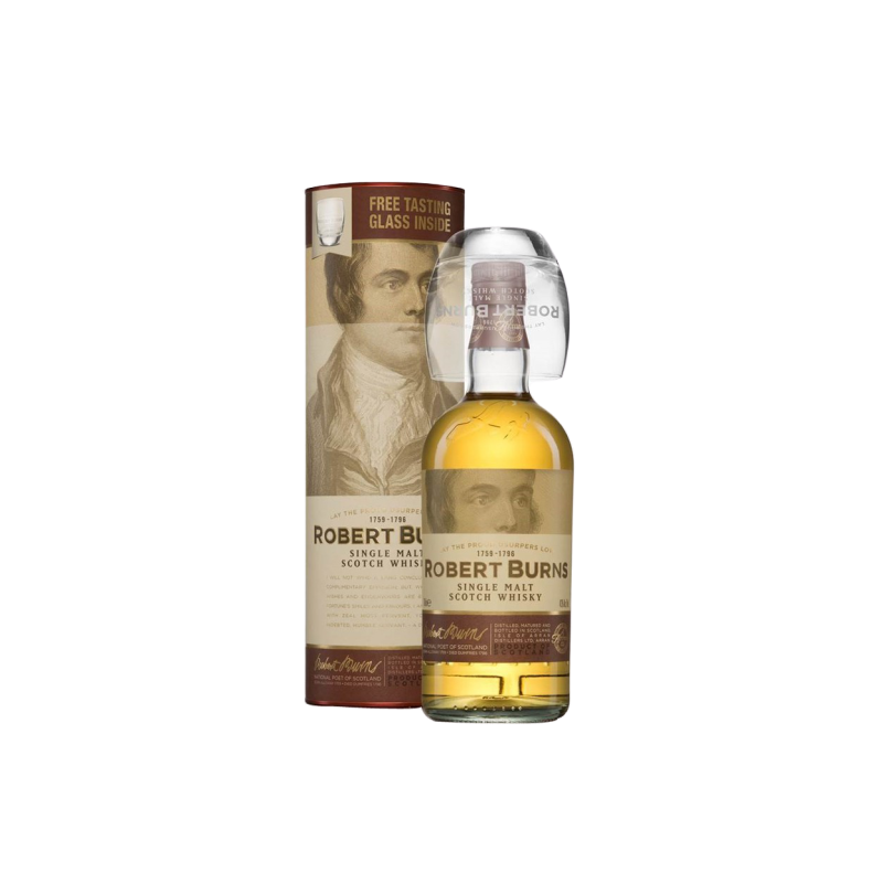 ARRAN ROBERT BURNS MALT COFFRET 1 VERRE